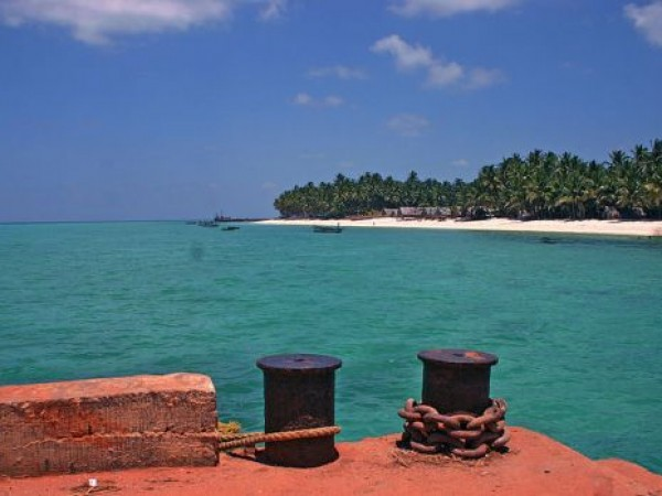 Lakshadweep photos, Agatti Island - A View