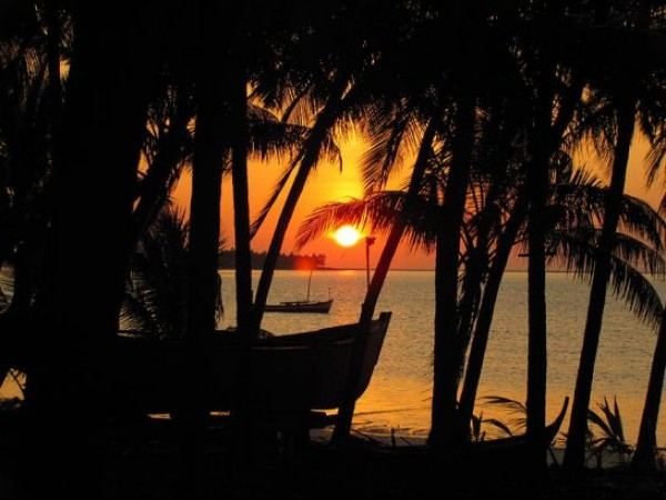 Lakshadweep photos, Kalpeni Island - Sunset