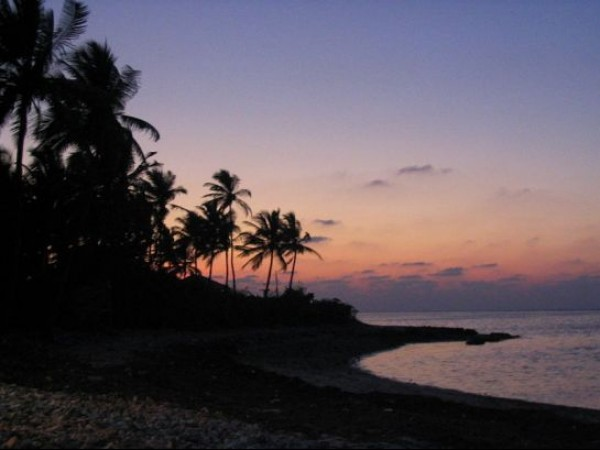 Lakshadweep photos, Kavaratti - Twilight View