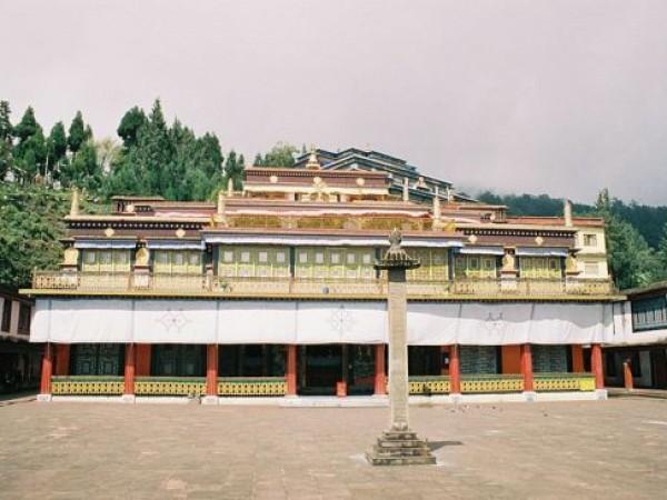 Rumtek photos, Rumtek Monastery - Premises of the Monastery