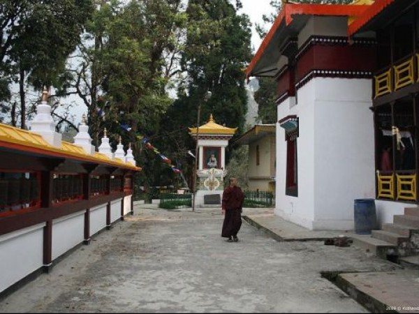 Gangtok photos, Enchey Monastery - Prayer Wheel