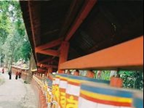 Gangtok photos, Enchey Monastery - Sacred Prayer Wheels