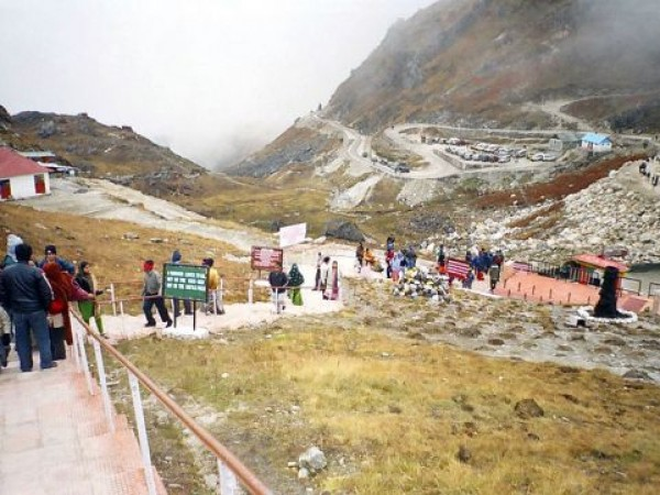 Gangtok photos, The Nathu La Pass - Stairs