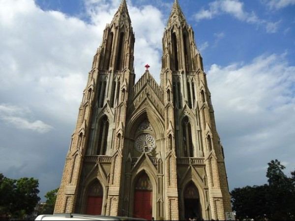 Mysore photos, St. Philomenas Church - A View
