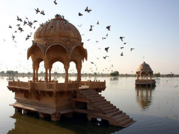 Jaisalmer photos, Amar Sagar Lake - Lake