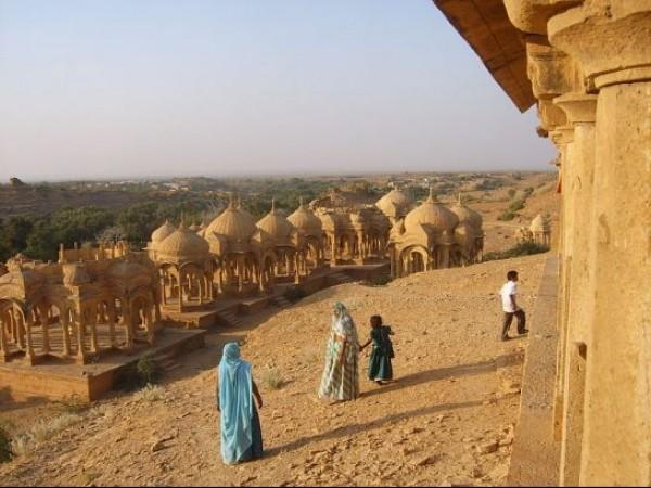 Jaisalmer photos, Bada Bagh - Environ