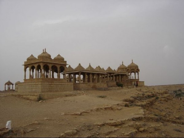 Jaisalmer photos, Bada Bagh - A View