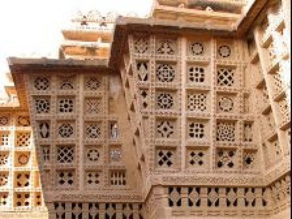 Jaisalmer photos, Lodurva - A Side View