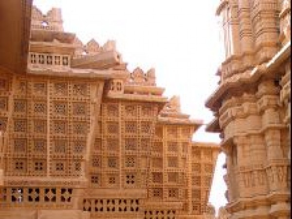 Jaisalmer photos, Lodurva - Carving