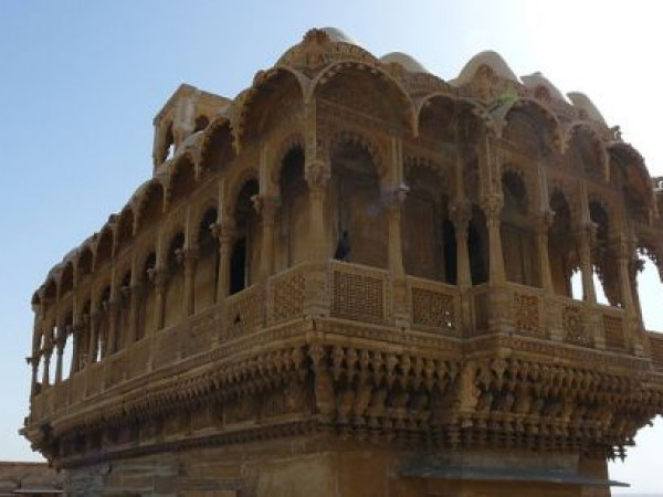 Jaisalmer photos, Salim Singh ki Haveli - Beautiful View