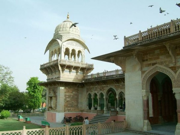 Jaipur photos, Albert Hall - Side View