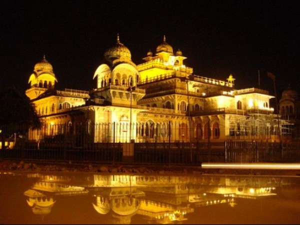 Jaipur photos, Albert Hall - Night View