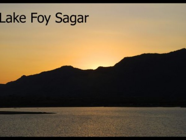 Ajmer photos, Foy Sagar Lake - View