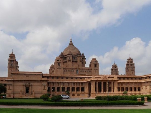 Jodhpur photos, Umaid Bhawan Palace - Largest Private Residence