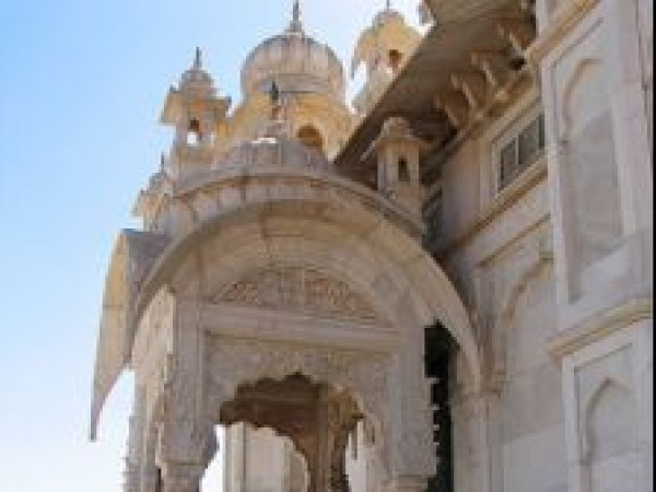 Jodhpur photos, Jaswant Thada - Entrance Way