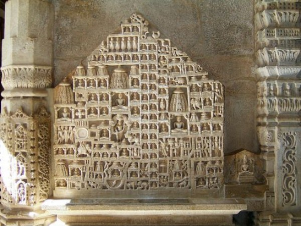 Ranakpur photos, Ranakpur Jain Temple - Beautiful Walls
