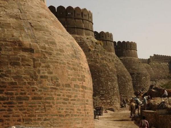 Kumbhalgarh photos, Kumbhalgarh Fort - Walls of the Fortress