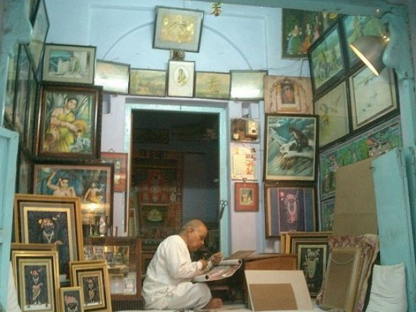 Nathdwara photos, An Artist at Work