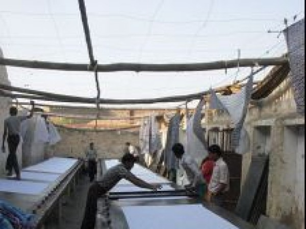 Bikaner photos, Fabric Printing