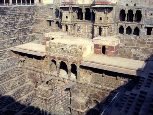 Abhaneri photos, Chand Baori - Lovely Chand Baori