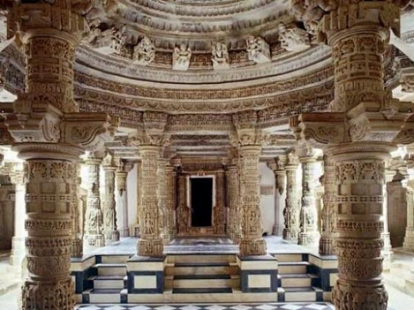 Mount Abu photos, Dilwara Jain Temples - Temple Interiors