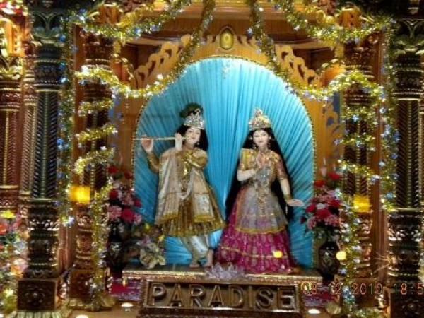 Mount Abu photos, Brahma Kumaris Spiritual University - Radha Krishna