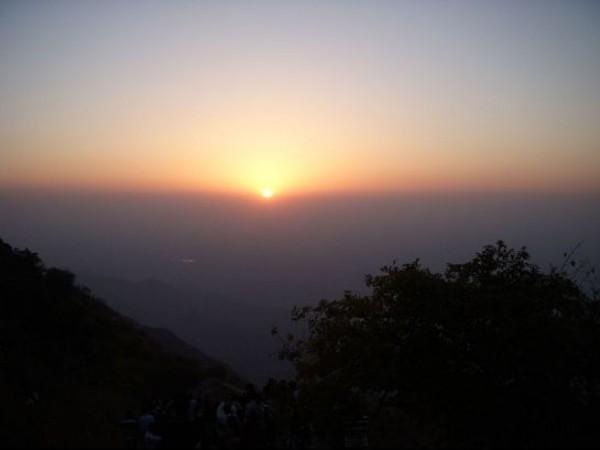 Mount Abu photos, Sunset Point - Twilight
