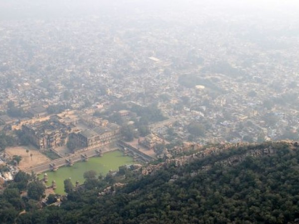 Alwar photos, Bala Quila - Bird's Eye View