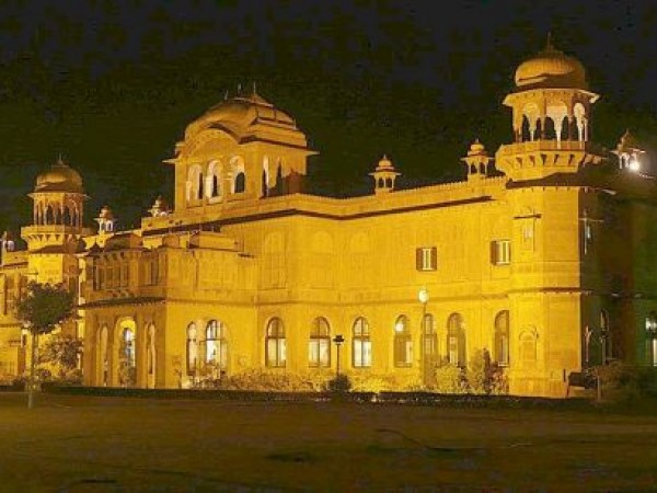Bikaner photos, Lallgarh Palace - During Night