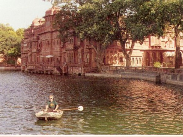 Bikaner photos, Gajner Palace - Boat Ride