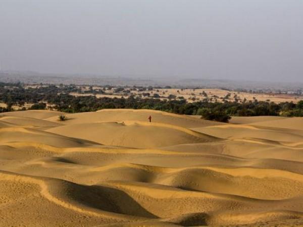 Jaisalmer photos, Khuri Sand Dunes