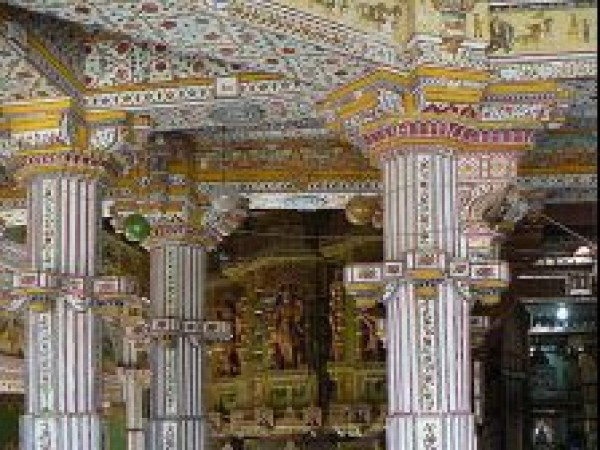 Bikaner photos, Laxmi Nath Temple - Interiors