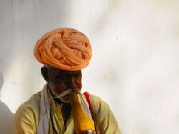 Pushkar photos, snake charmer in pushkar - Snake Charming