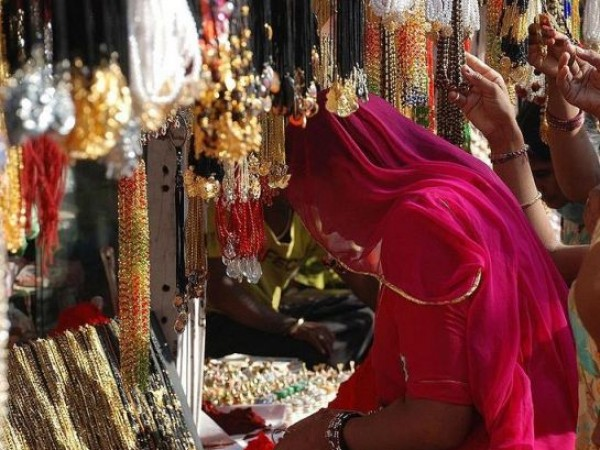 Pushkar photos, Pushkar Bazaar - Shopping