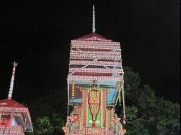 Alleppey photos, Chettikulangara Bhagavathy Temple - Kuthira