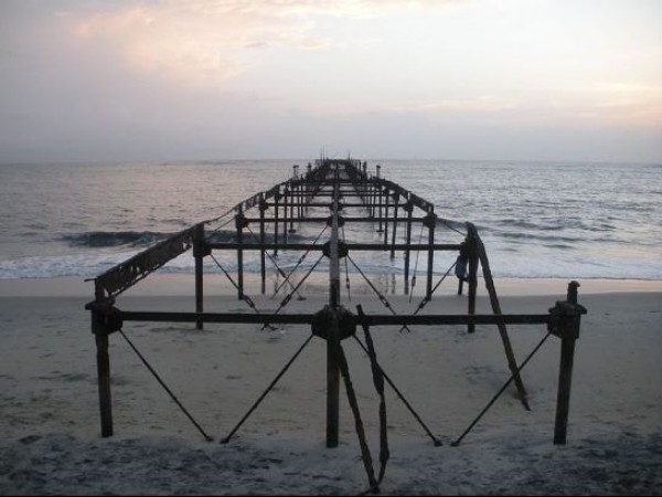 Alleppey photos, Alleppey Sea Bridge