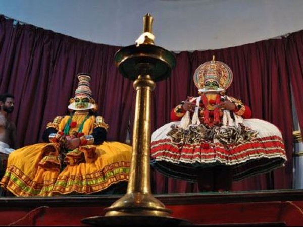 Kottarakkara photos, Kathakali performance