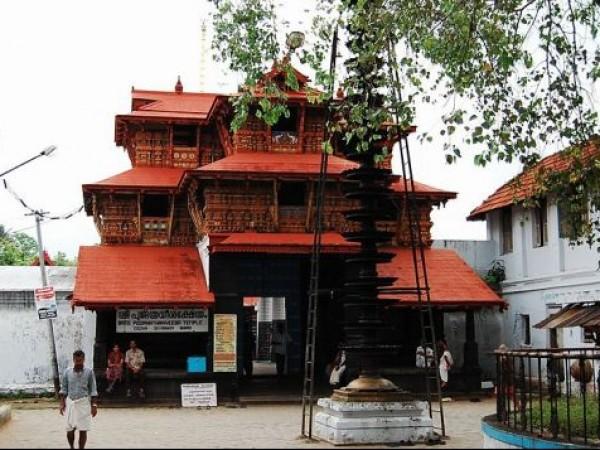 Chottanikkara photos, Poornathrayesa Temple - Exterior View