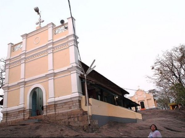 Malayattoor photos, Malayattoor Church - Main Entrance