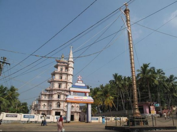 Kovalam photos, Vizhinjam village - The Church