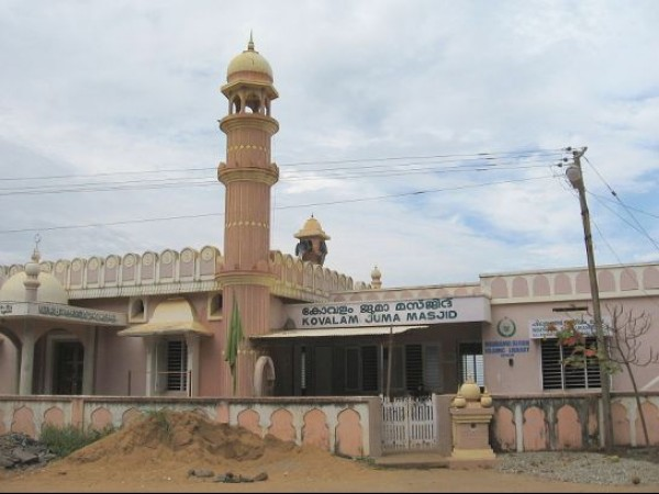 Kovalam photos, Kovalam Jama Masjid - Front View