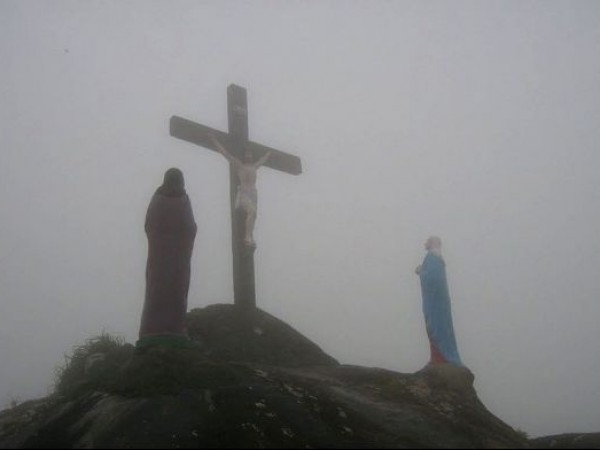 Vagamon photos, Kurisumala Hill - A Holy Cross