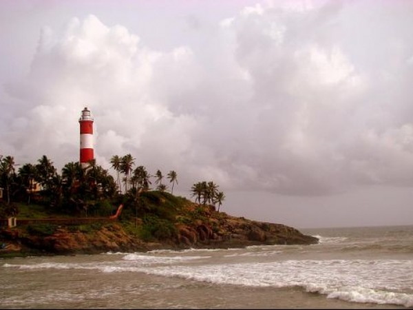 Kovalam photos, Lighthouse Beach - Dusk