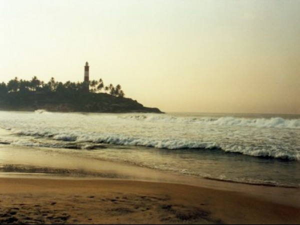 Kovalam photos, Lighthouse Beach - During Twilight
