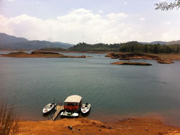 Wayanad photos, Banasura Sagar Dam - Boating