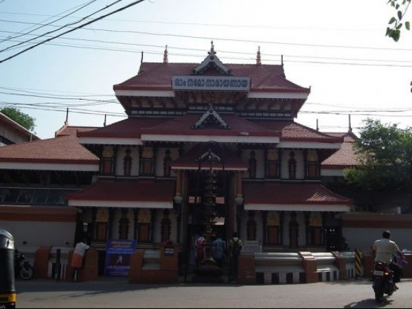 Thrissur photos, Thiruvambady Krishna Temple - Exterior View of the Temple
