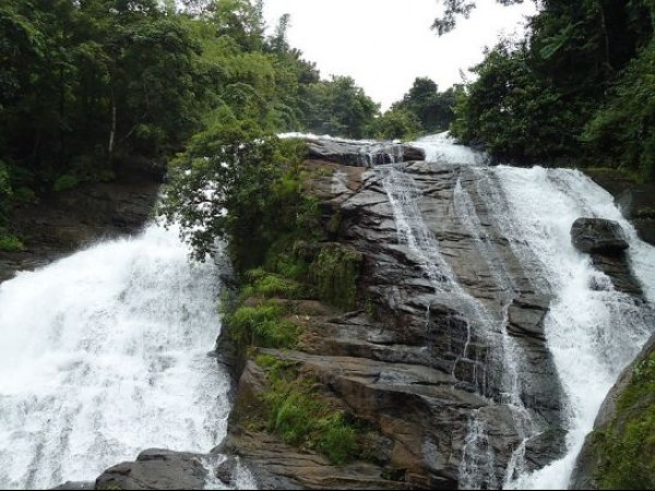 Thrissur photos, Charpa Falls - Pristine Waters