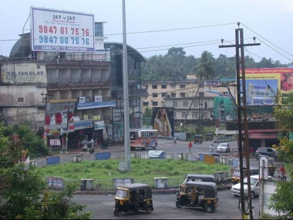 Kasargode photos, View of a town