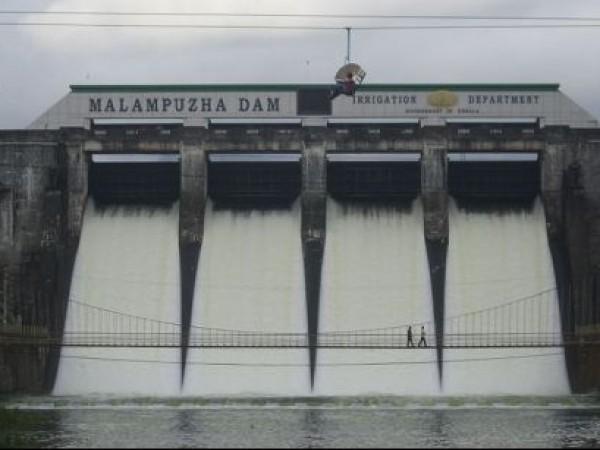 Malampuzha photos, Malampuzha Dam - View of the dam