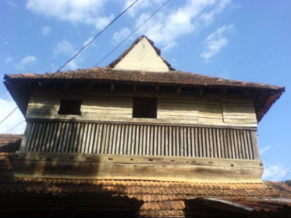 Adoor photos, Pandalam Palace- A Top View Of The Palace
